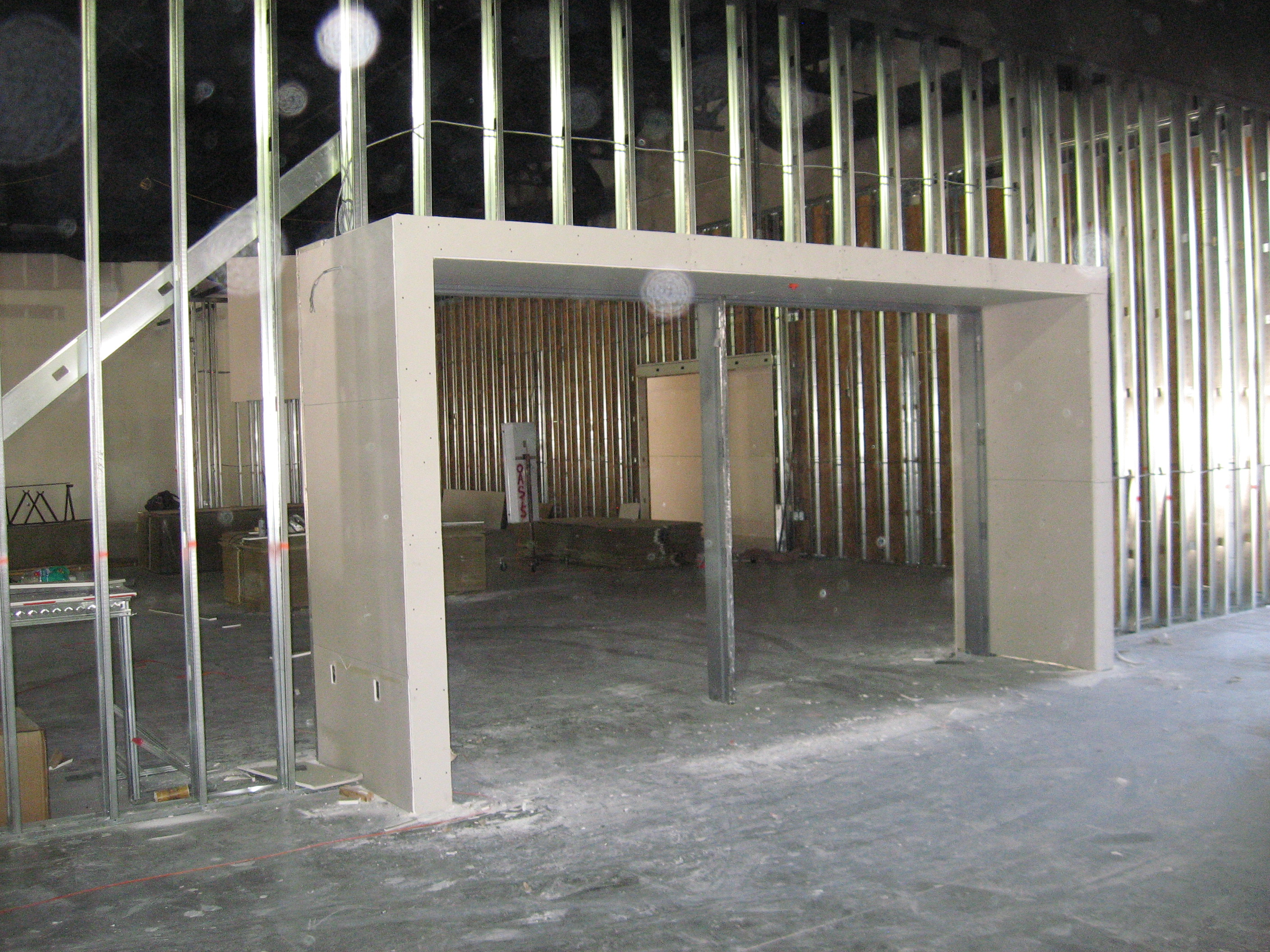 Dry Wall Construction : March th construction update new photos second mile